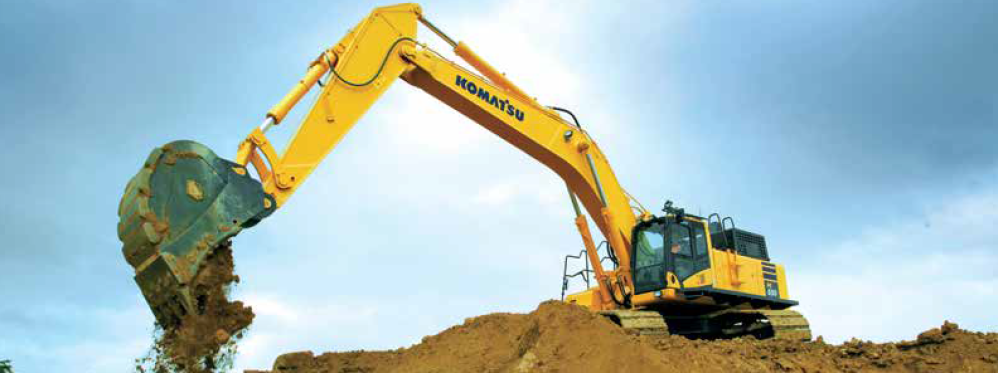 Komatsu PC650LC-11 Hydraulic Excavator: THE BIG DIRT, ROCK