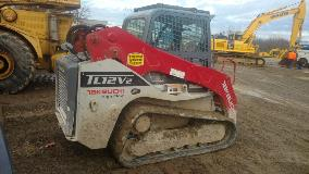 Takeuchi TL12V2 Right Side
