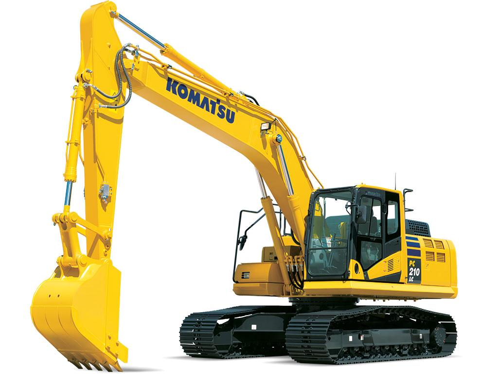 Mid-Size Excavators