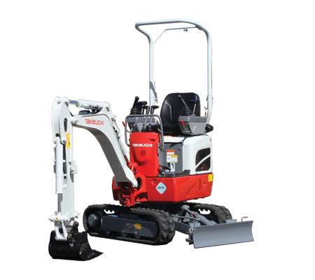TB210R Compact Excavator