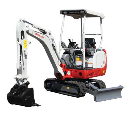 TB216 Compact Excavator
