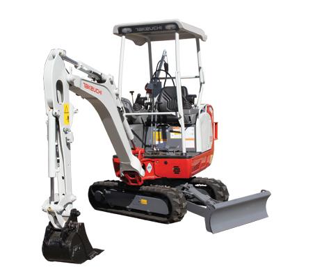 TB216H Compact Excavator