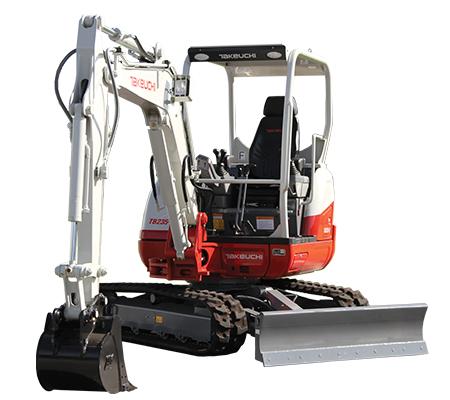 TB235-2 Compact Excavator