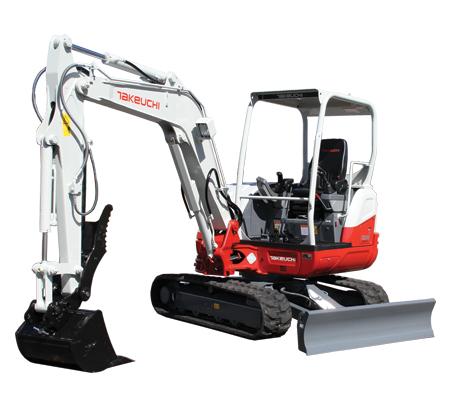 TB240 Compact Excavator