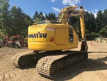 Komatsu PC228USLC-10 Right Rear
