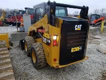 CAT 242D Left Rear