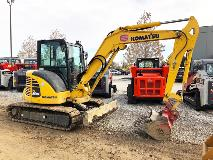 Komatsu PC55MR-5 Right Rear